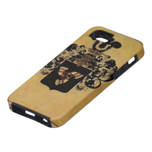 Escudo de armas de Heorhiy Narbut- de la familia d iPhone 5 Case-Mate Cobertura