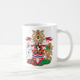 Escudo de armas de Hereford Worcester Tazas