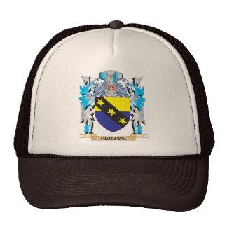 Escudo de armas de Herzog - escudo de la familia Gorros