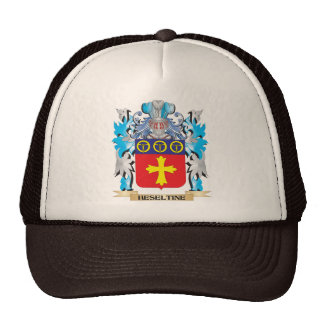 Escudo de armas de Heseltine - escudo de la Gorras