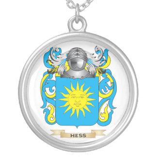 Escudo de armas de Hess (escudo de la familia) Colgante Redondo
