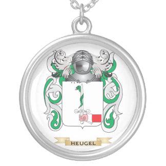 Escudo de armas de Heugel (escudo de la familia) Colgante Redondo
