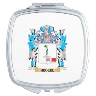 Escudo de armas de Heugel - escudo de la familia Espejos De Viaje