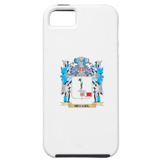 Escudo de armas de Heugel - escudo de la familia iPhone 5 Case-Mate Coberturas