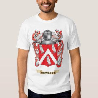 Escudo de armas de Hewlett (escudo de la familia) Camisas