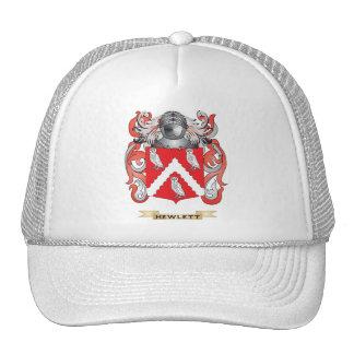 Escudo de armas de Hewlett (escudo de la familia) Gorras