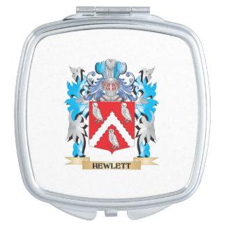 Escudo de armas de Hewlett - escudo de la familia Espejos Para El Bolso