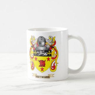 Escudo de armas de Heyward (escudo de la familia) Tazas De Café