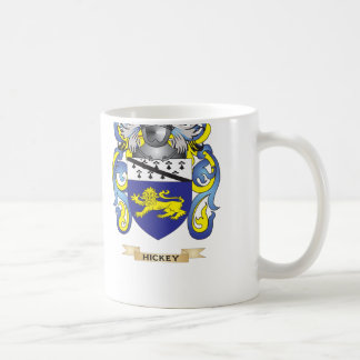 Escudo de armas de Hickey (escudo de la familia) Taza De Café