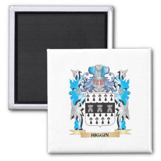 Escudo de armas de Higgin - escudo de la familia Imán De Frigorífico