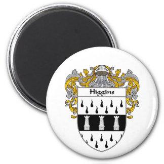 Escudo de armas de Higgins (cubierto) Imán Para Frigorifico