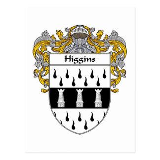 Escudo de armas de Higgins cubierto