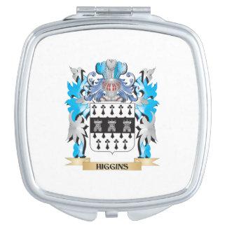 Escudo de armas de Higgins - escudo de la familia Espejos Para El Bolso
