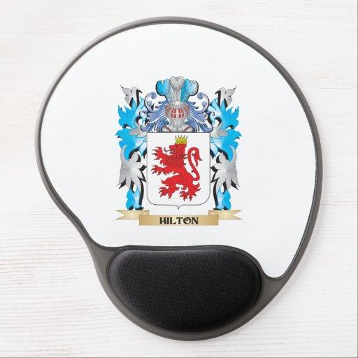 Escudo de armas de Hilton - escudo de la familia Alfombrillas De Ratón Con Gel