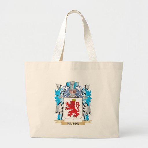 Escudo de armas de Hilton - escudo de la familia Bolsa Lienzo