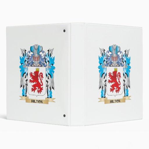 Escudo de armas de Hilton - escudo de la familia