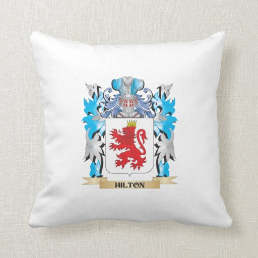 Escudo de armas de Hilton - escudo de la familia Cojin