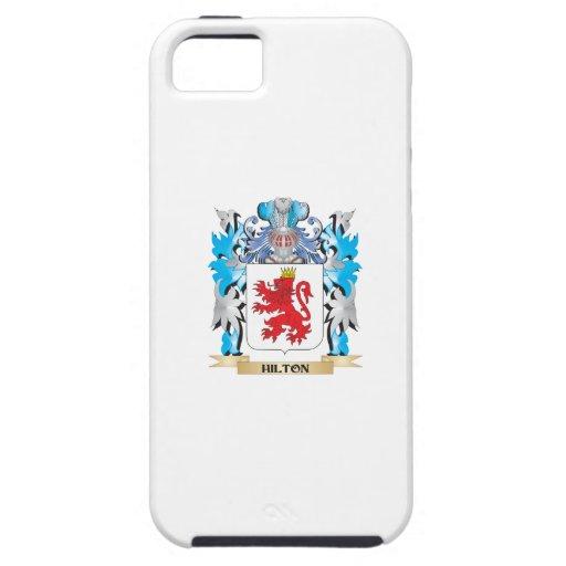 Escudo de armas de Hilton - escudo de la familia iPhone 5 Case-Mate Protector