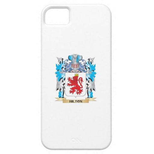 Escudo de armas de Hilton - escudo de la familia iPhone 5 Protector