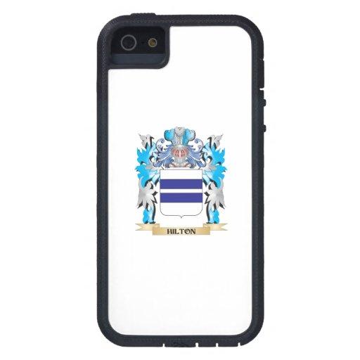 Escudo de armas de Hilton - escudo de la familia iPhone 5 Carcasa