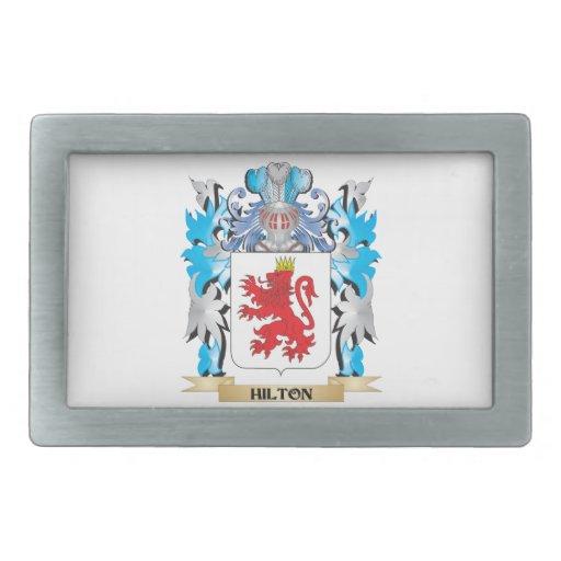 Escudo de armas de Hilton - escudo de la familia Hebilla Cinturón