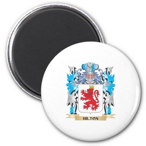 Escudo de armas de Hilton - escudo de la familia Imanes