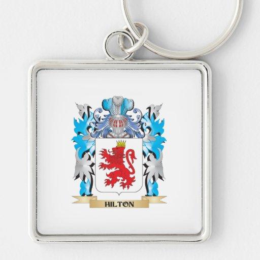 Escudo de armas de Hilton - escudo de la familia Llavero Personalizado