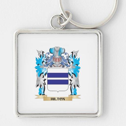 Escudo de armas de Hilton - escudo de la familia Llaveros