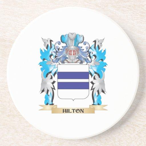 Escudo de armas de Hilton - escudo de la familia Posavaso Para Bebida