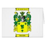 Escudo de armas de Hinchcliffe Felicitaciones