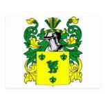 Escudo de armas de Hinchcliffe Tarjeta Postal
