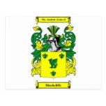 Escudo de armas de Hinchcliffe Tarjetas Postales