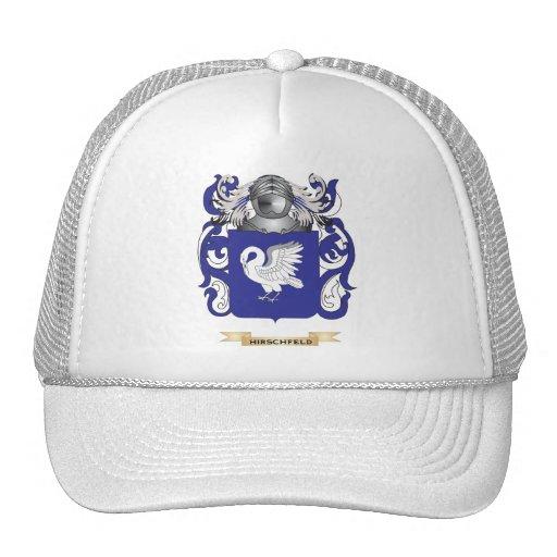 Escudo de armas de Hirschfeld (escudo de la famili Gorras