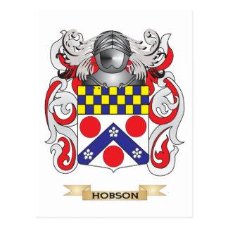 Escudo de armas de Hobson (escudo de la familia) Postales