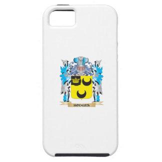 Escudo de armas de Hodges - escudo de la familia iPhone 5 Case-Mate Carcasa