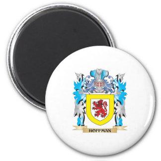 Escudo de armas de Hoffman - escudo de la familia Iman Para Frigorífico
