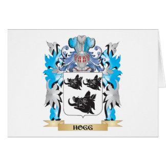Escudo de armas de Hogg - escudo de la familia Tarjeta Pequeña