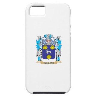 Escudo de armas de Holanda - escudo de la familia iPhone 5 Case-Mate Cárcasa