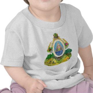 Escudo de armas de Honduras Camisetas