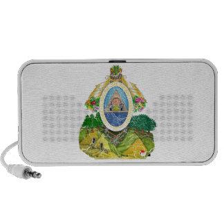 Escudo de armas de Honduras iPod Altavoces