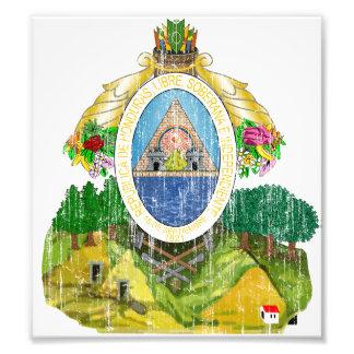Escudo de armas de Honduras Impresiones Fotográficas