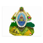 Escudo de armas de Honduras Postal