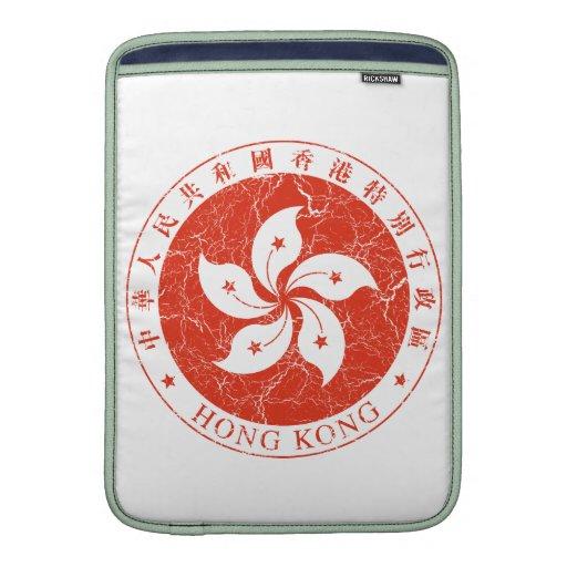 Escudo de armas de Hong Kong Funda Para Macbook Air