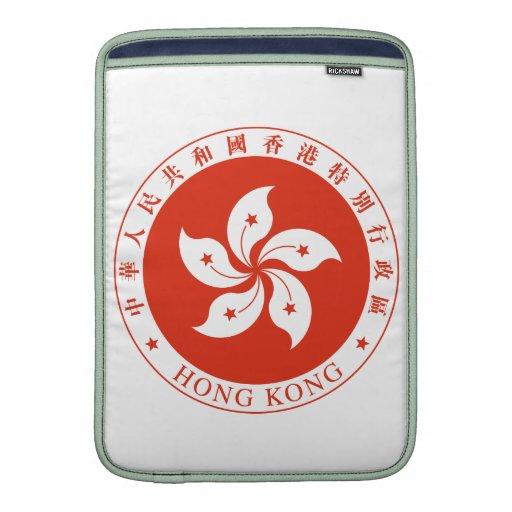 Escudo de armas de Hong Kong Funda Macbook Air