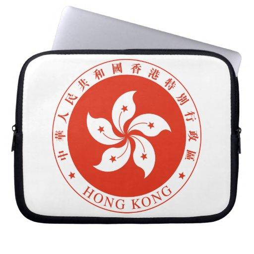 Escudo de armas de Hong Kong Mangas Computadora