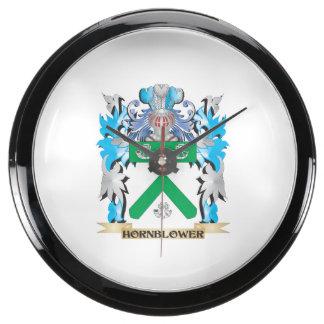 Escudo de armas de Hornblower - escudo de la Reloj Aquavista