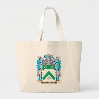 Escudo de armas de Hornblower - escudo de la Bolsa De Mano