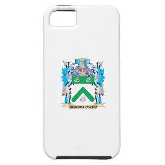 Escudo de armas de Hornblower - escudo de la iPhone 5 Cárcasas