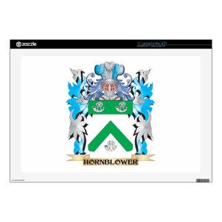 Escudo de armas de Hornblower - escudo de la Calcomanía Para Portátil