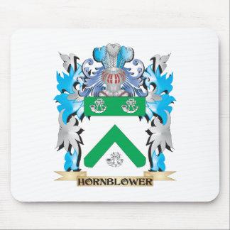 Escudo de armas de Hornblower - escudo de la Tapete De Ratones
